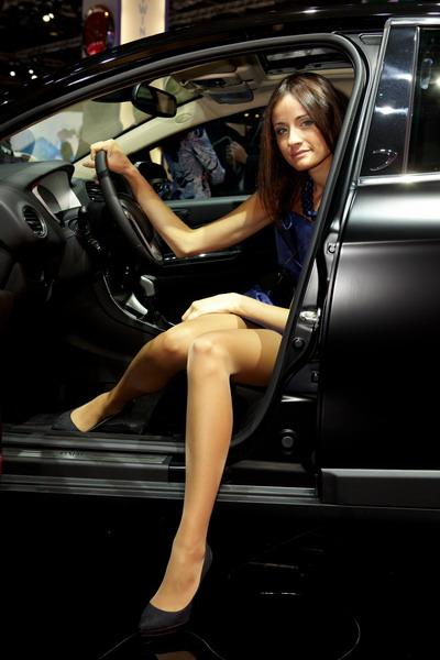 Car And Home Insurance >> Paris Motor Show 2010: Car Babes | AutoGeeze | Latest Sport Car News Insurance Wallpapers ...