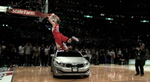 Blake Griffin Kia Optima Dunk