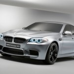 2012 BMW Concept M5 officially unleashed