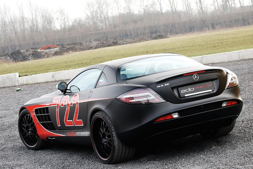 Edo Mercedes Benz Slr Mclaren 722 Black Arrow 015 Autogeeze