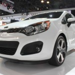 2012 Kia Rio at the 2011 New York Auto Show