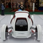 Futuristic cars at CES 2012: Supremacy on wheels