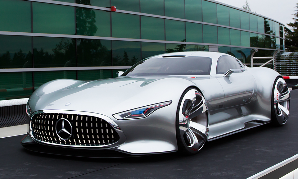 A Closer Look At The MBZ AMG Vision