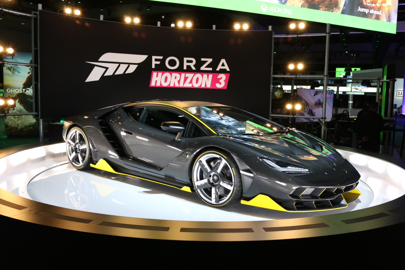 Centenario Is The Featured Cover Car Of Forza Horizon 3